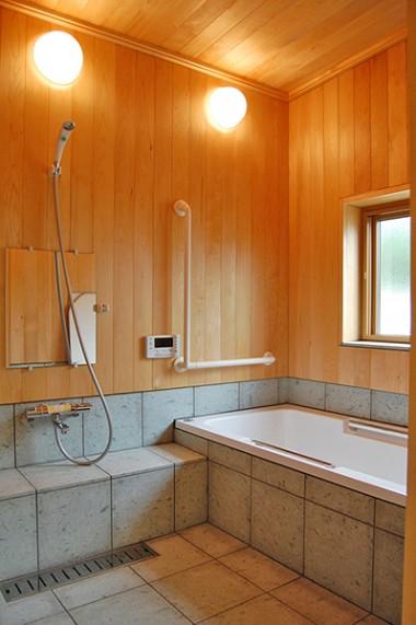 八橋田五郎の家 浴室