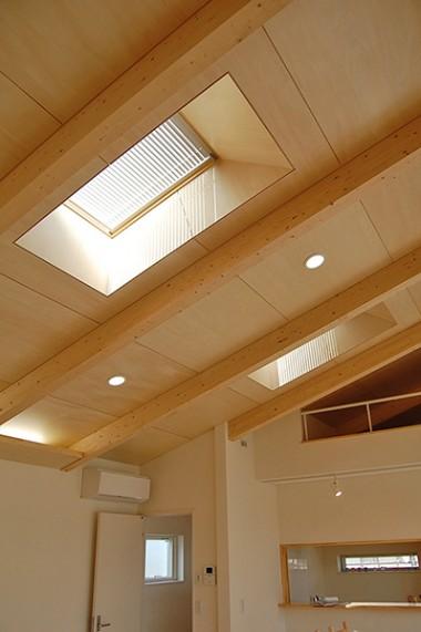 川尻上野町の家 天井