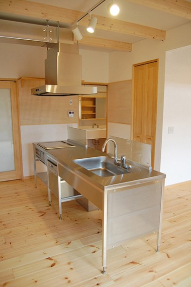 八橋田五郎の家 キッチン