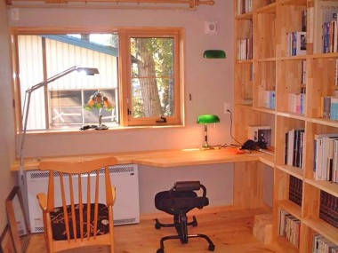 太田町の家 書斎