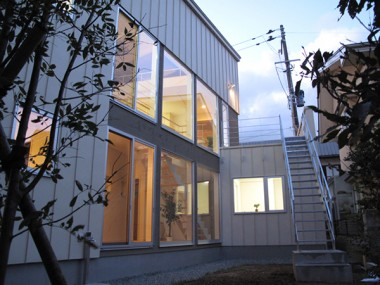 川尻上野町の家 外観