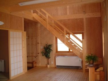 アカデミ居間階段